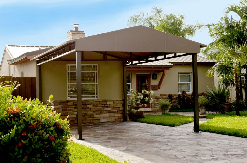 Carport Modern Design Carport And Entry Awnings