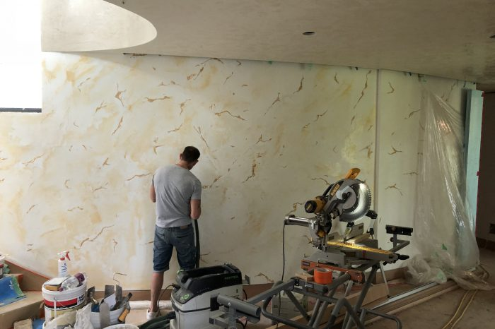 Thor & Partners Luxury Elements restoration of a room with the help of macropolo luxury which a employ of Thor and Partners is applying