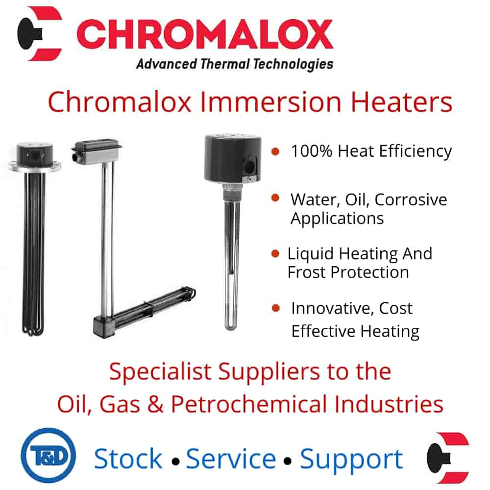 Chromalox Immersion Heaters Thorne Derrick
