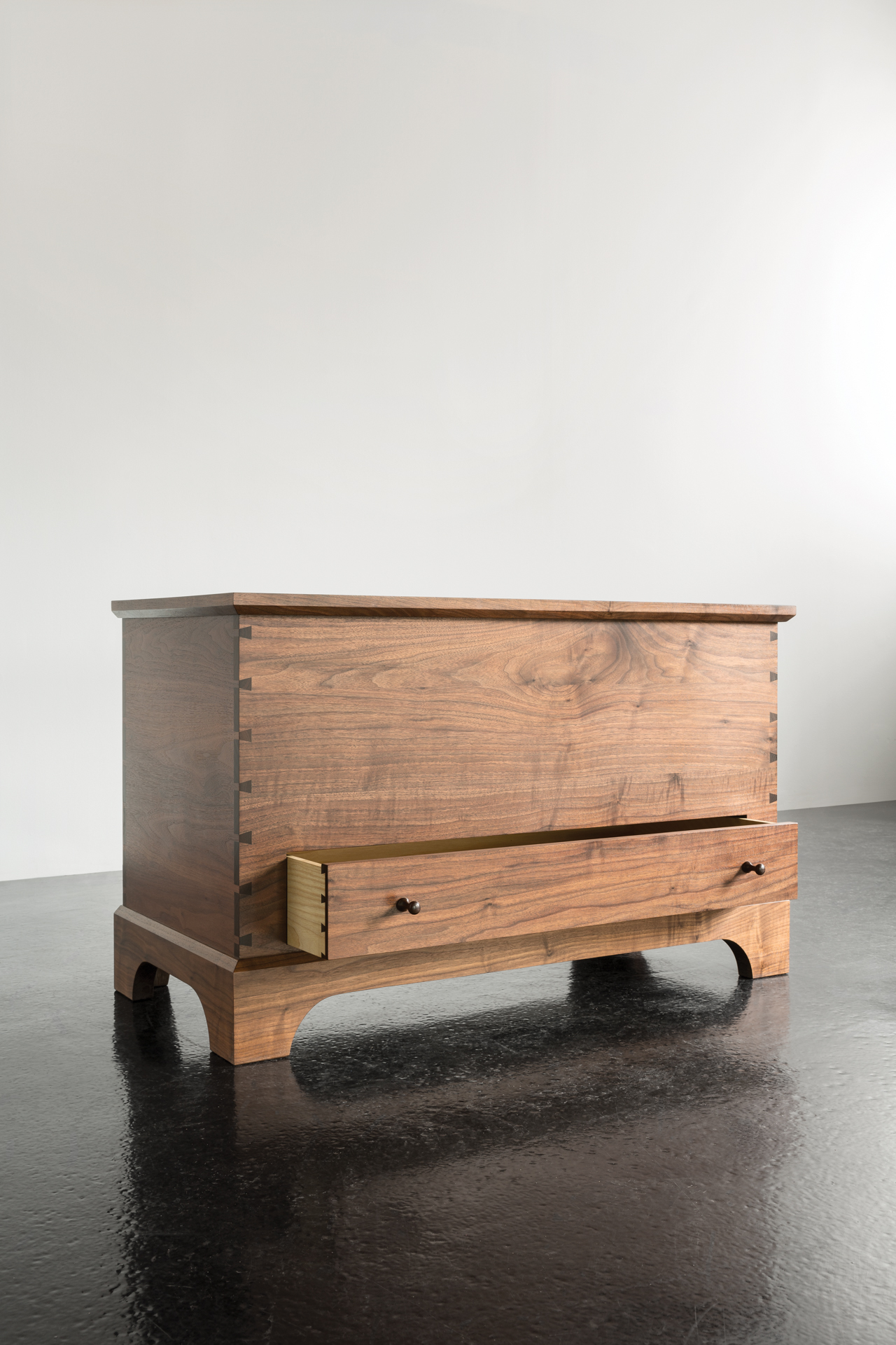 Wood Blanket Box Blanket Box