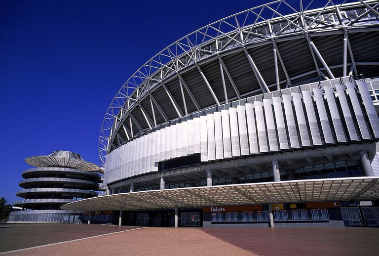 Japanese Themed Decor Architects And The Sydney Olympic Stadium In Australia