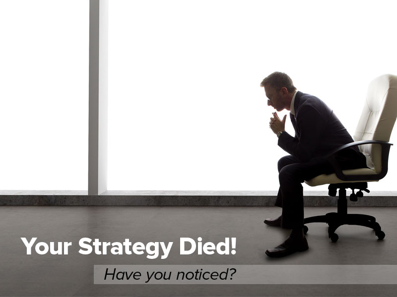 Your Strategy Died! Have You Noticed?