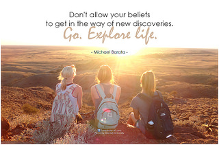 Michael Barata Don't allow your beliefs to get...