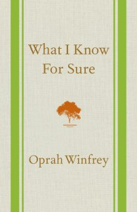 what I know for sure Oprah