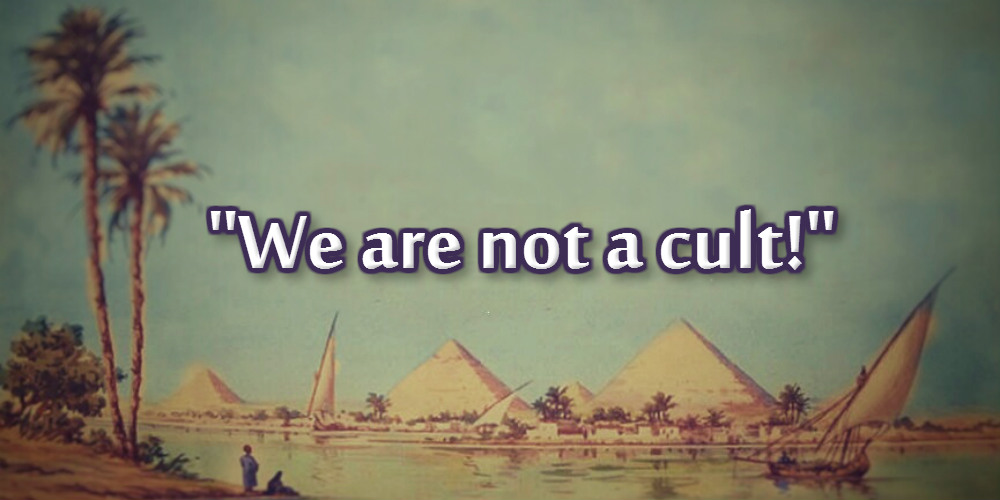 """We are not a cult!"""
