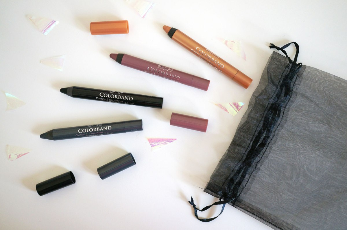 NEW Bourjois Colorband 2-in-1 Eyeshadow and Liner Pencils