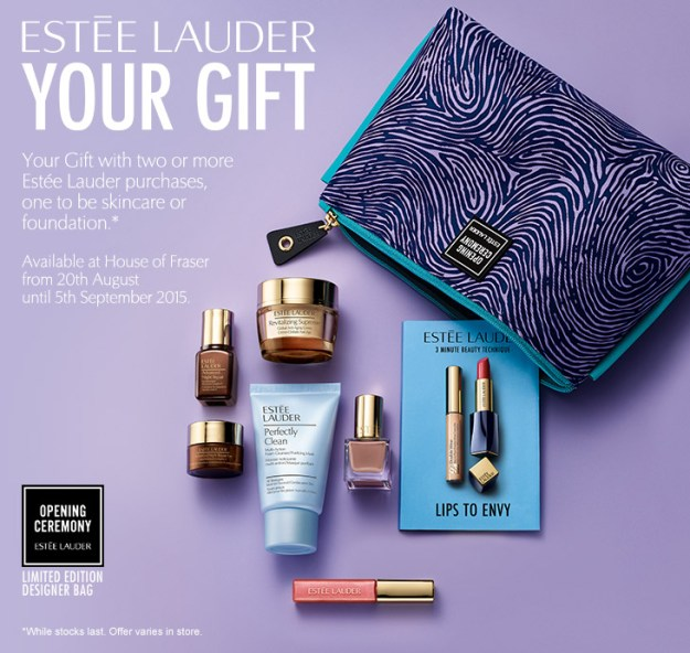 House Of Fraser Estee Lauder Gift With Purchase Thou