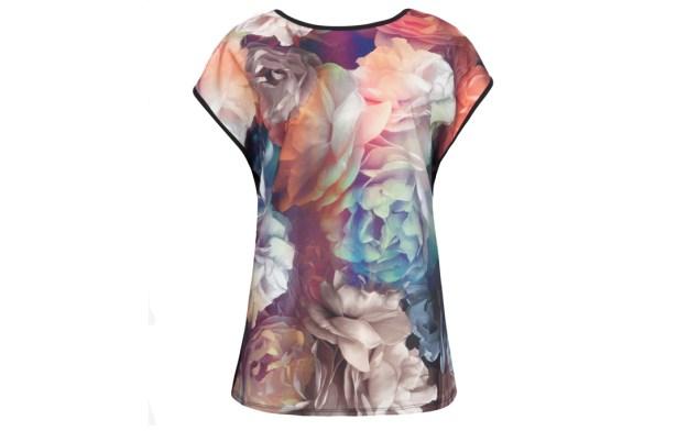 ted baker Rhianna Technicolour Bloom Tshirt
