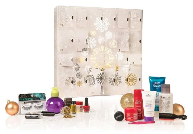 salon services advent calendar