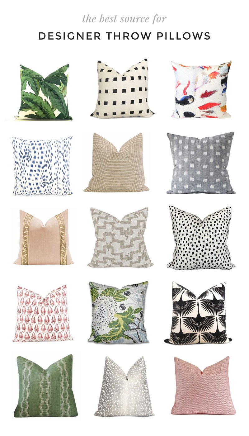 The Best Source For Designer Throw Pillows Thou Swell