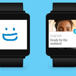 Skype Now Supports Android Wear Smart Watches