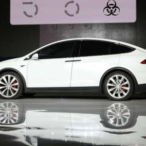 Tesla Model X Comes With Added Self Driving Features