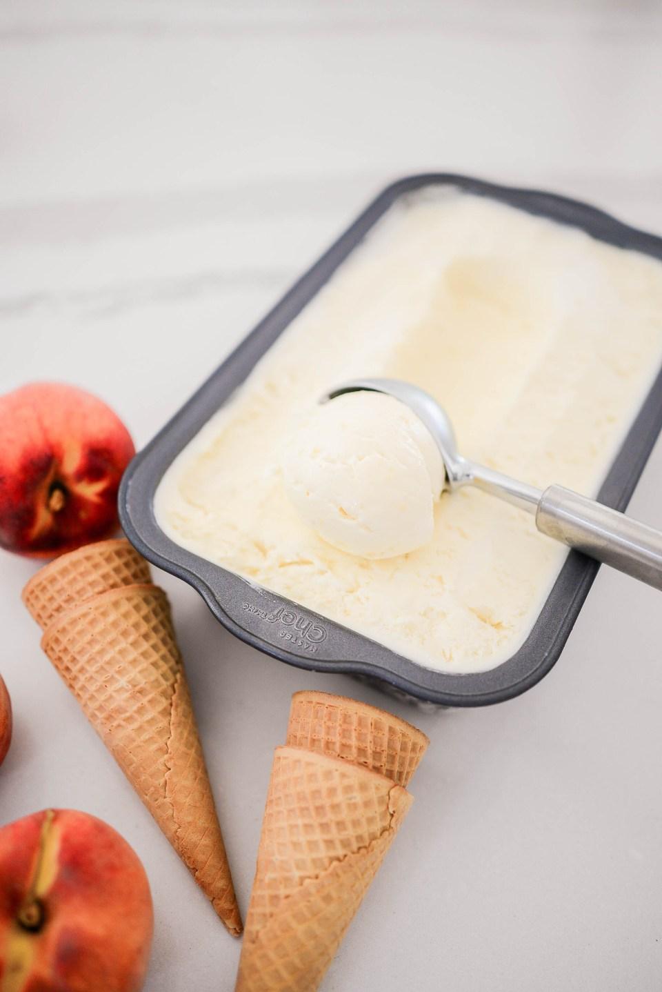Easy Homemade Ice Cream - No Churn Ice Cream Recipe
