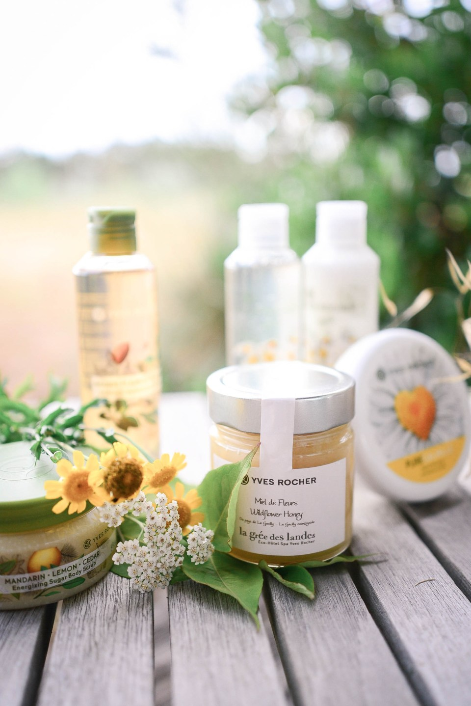 Yves Rocher products in La Gacilly