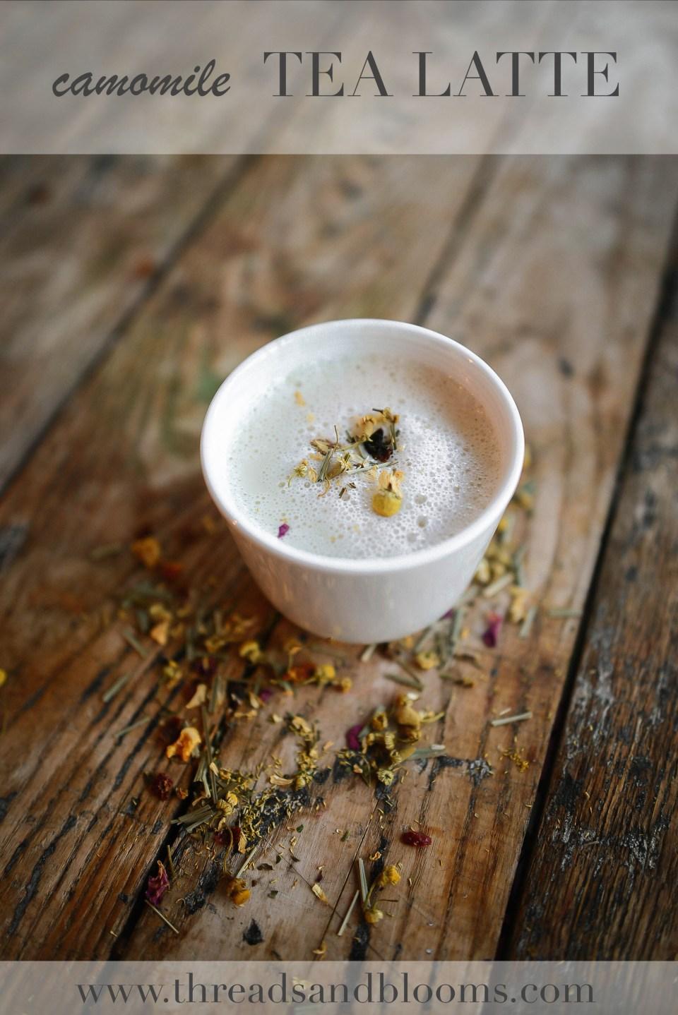 Camomile Tea Latte
