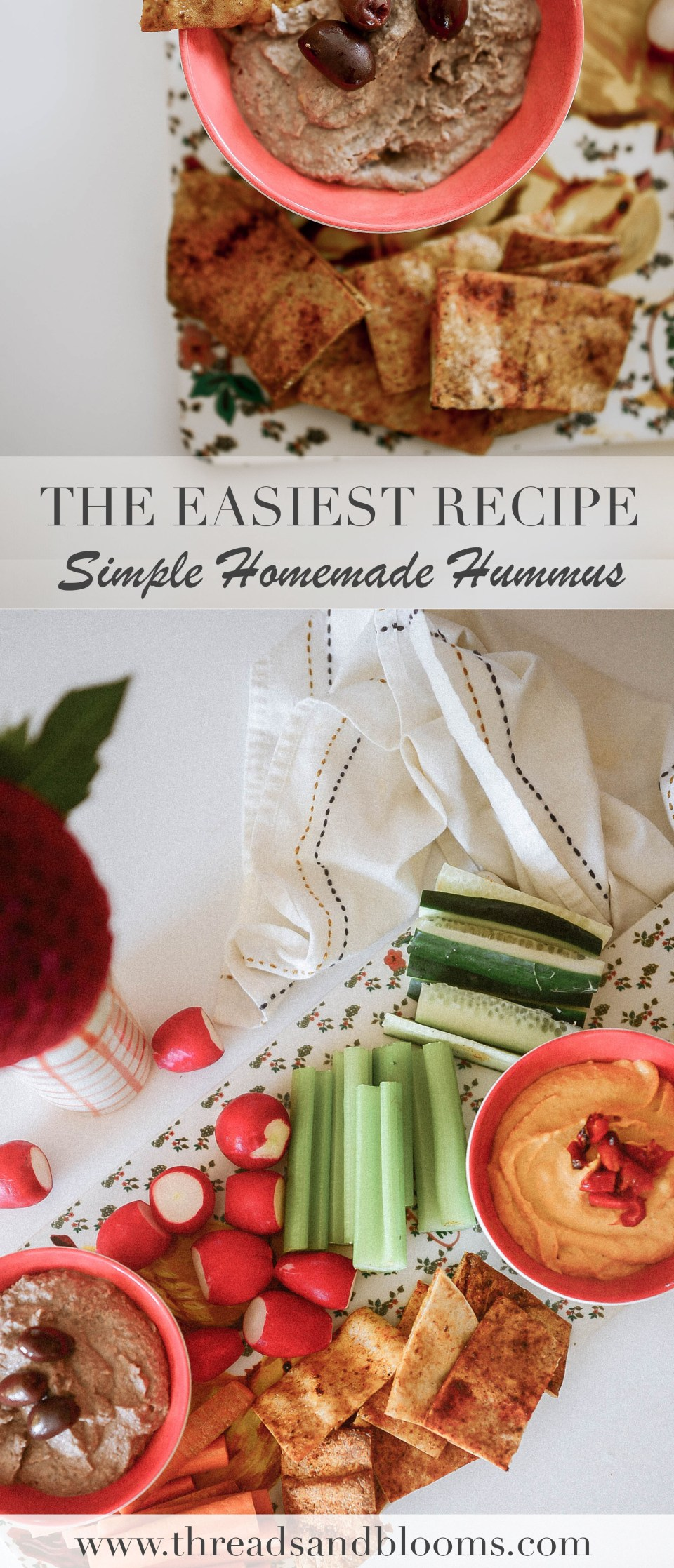 How to Make Hummus - Easy Hummus Recipe to Follow