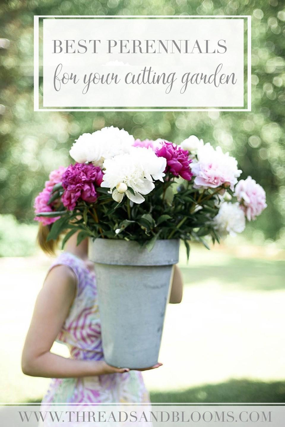 Perennials for your Cutting Garden