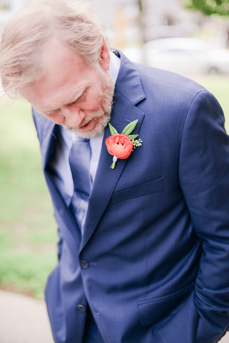 Ranunculus Boutonniere | Colorful Boutonniere