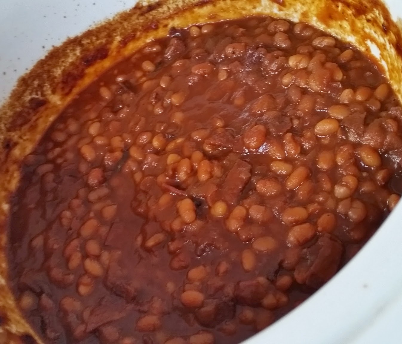 Root Beer Baked Beans - Three Kids and a Fish