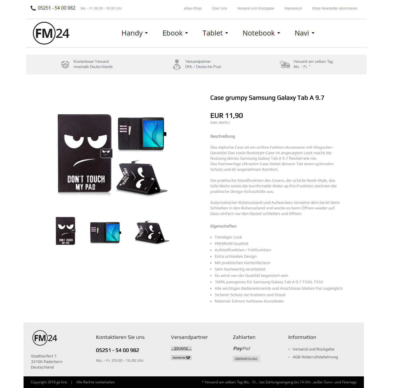 Ebay Templates Portfolio Threendy