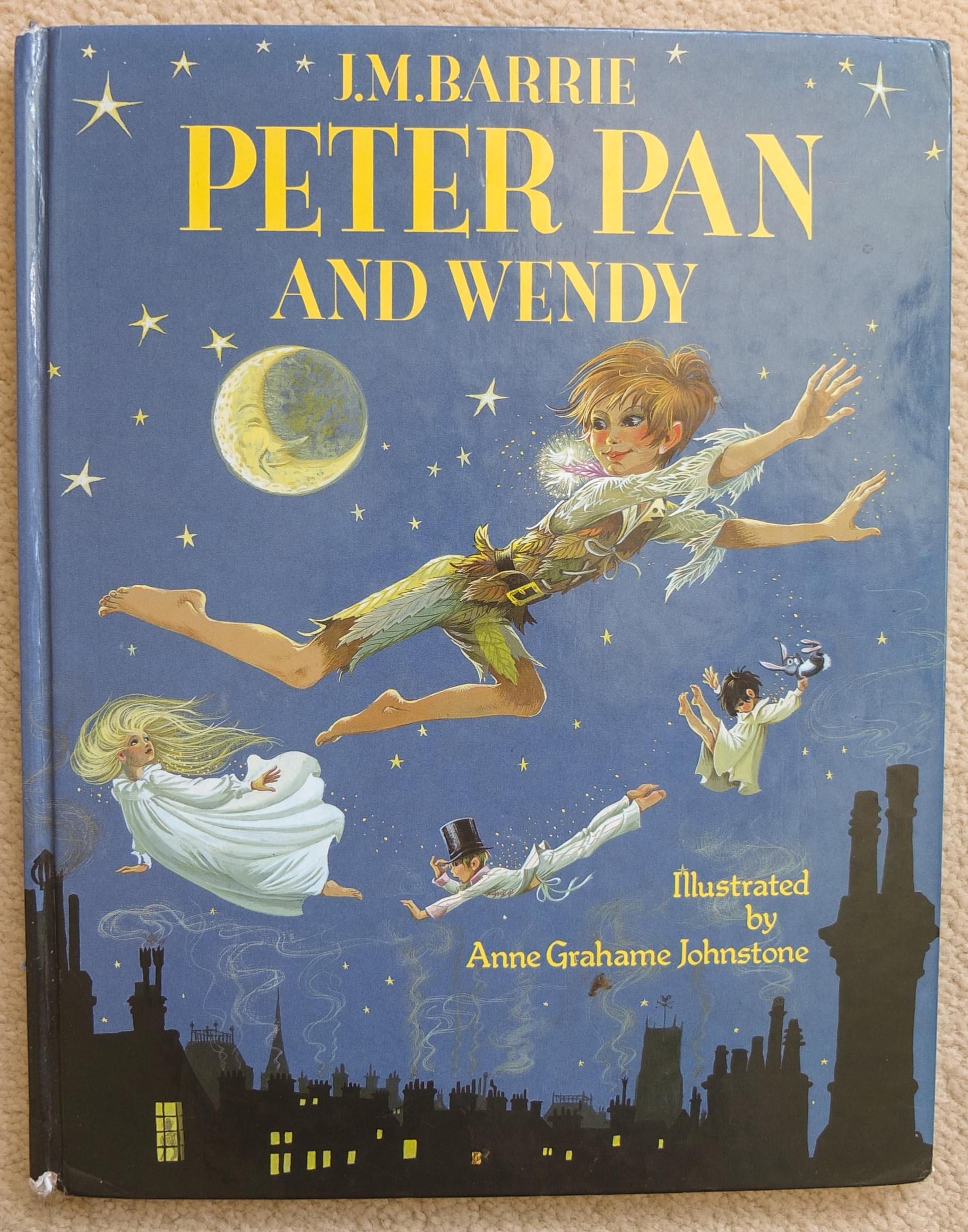 Peter Pan Libro Original Janet And Anne Grahame Johnstone Three Wishes Books