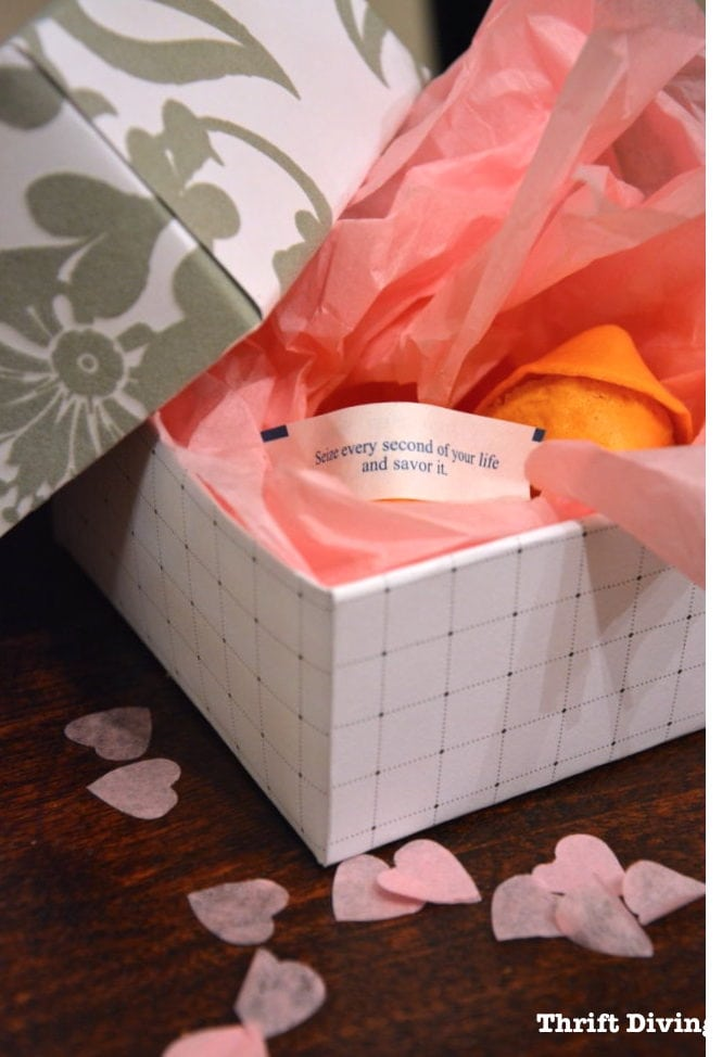 How to Make a Gift Box Out of Scrapbook Paper - DIY Gift Ideas