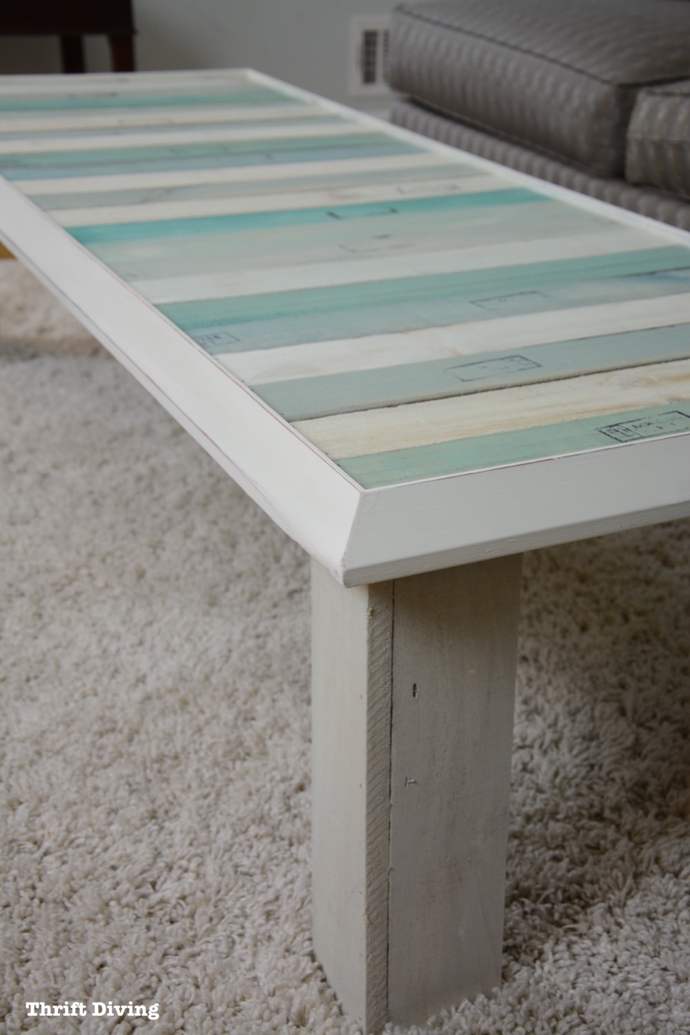 Diy Table With Pallets Upcycle A Picture Frame And Pallets Into A Diy Coffee Table