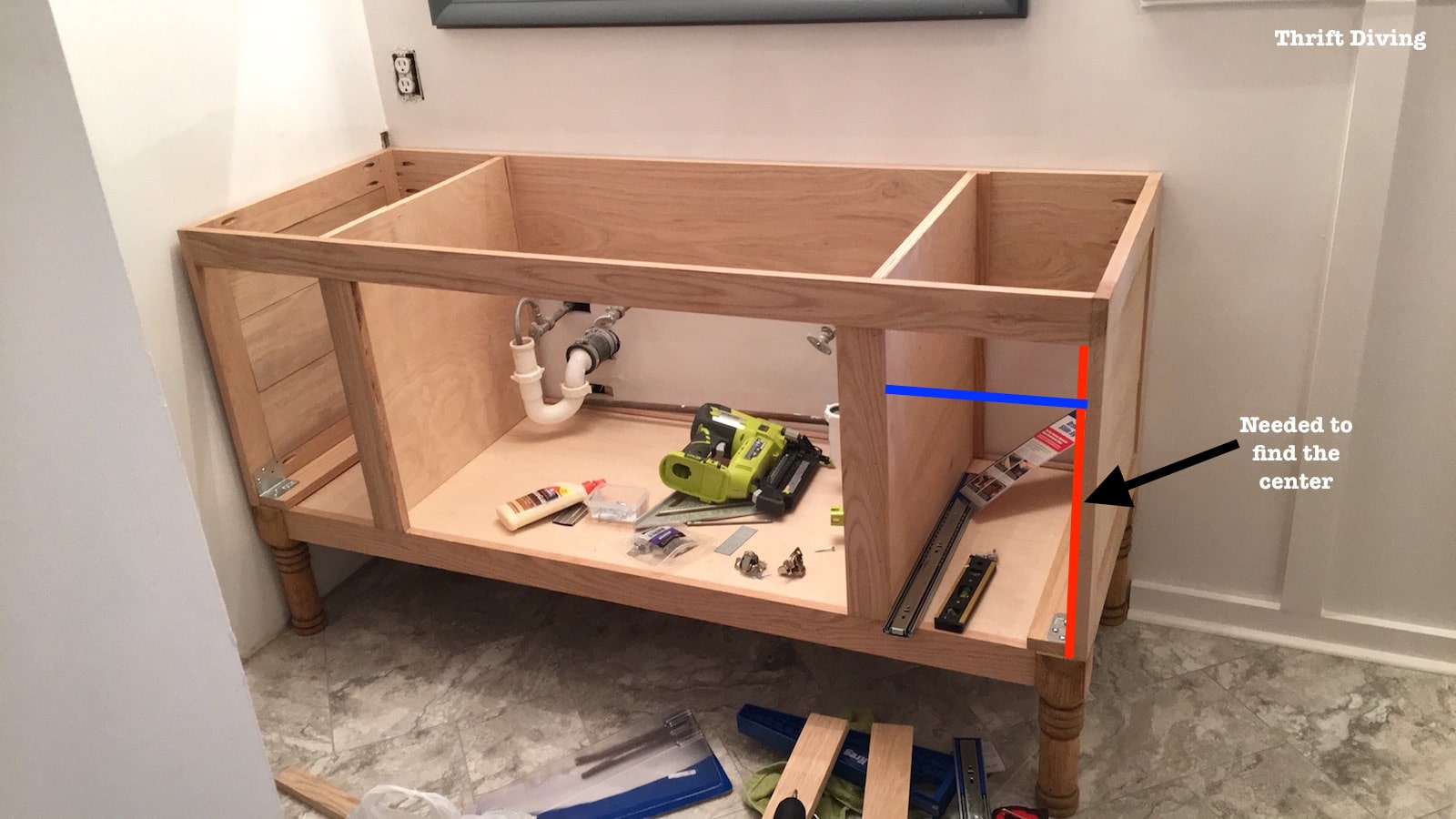 In Cabinet Drawers Build A Diy Bathroom Vanity Part 4 Making The Drawers