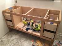 Build a DIY Bathroom Vanity - Part 4 - Making the Drawers