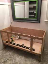 "How to Build a 60"" DIY Bathroom Vanity From Scratch"