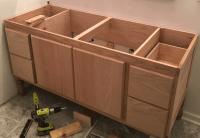 Building a DIY Bathroom Vanity: Part 5 - Making Cabinet Doors