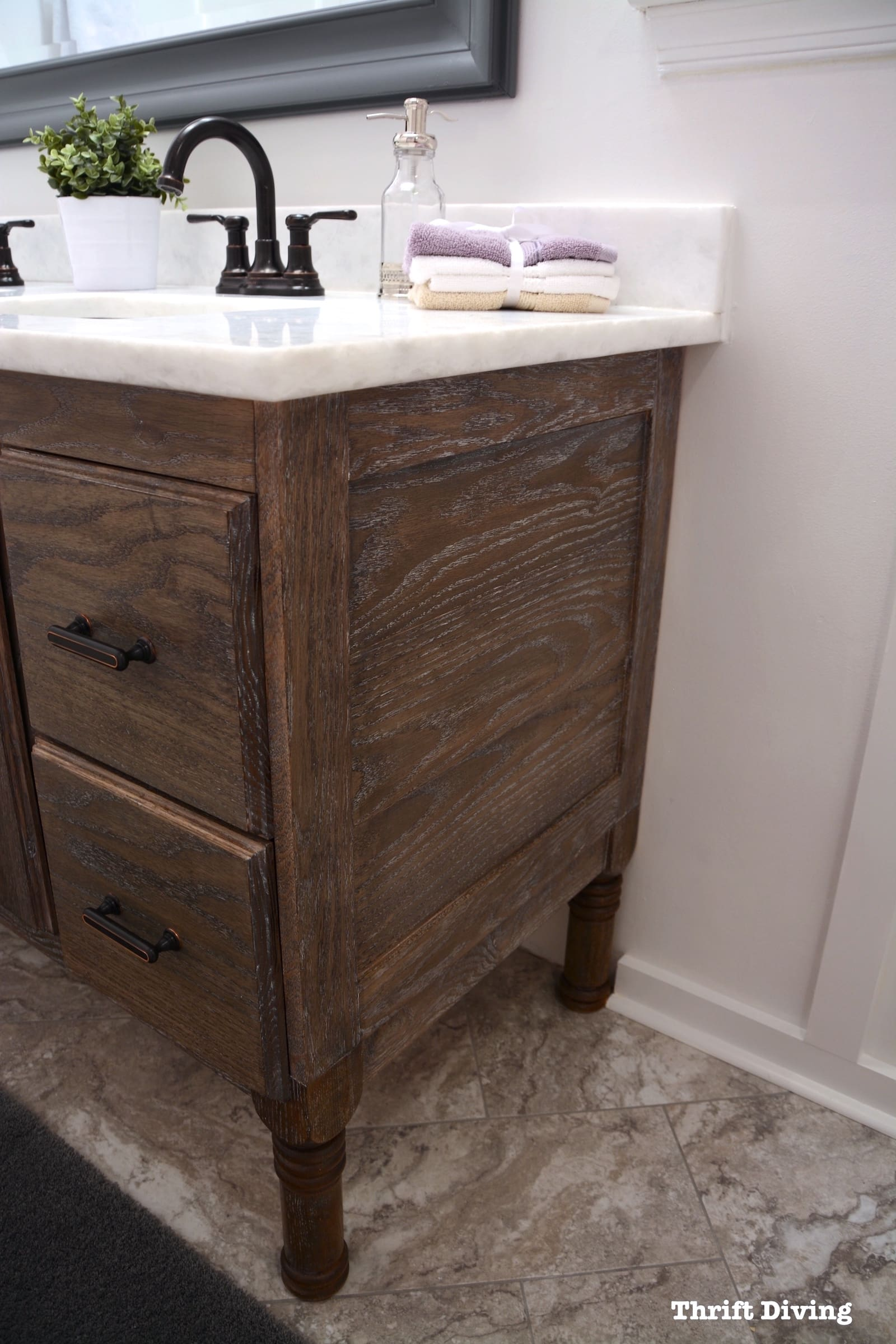 How To Make A Bathroom Vanity Cabinet How To Build A 60
