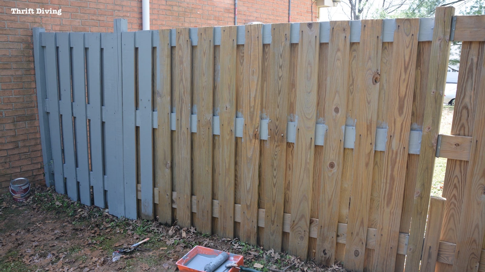 Preferential Paint A Fence How To Make Hanging Garden Fence Cedar Planter Making Progress Garden Fence Hanging Baskets Garden Fence Hanging Planters garden Fence Hanging Garden