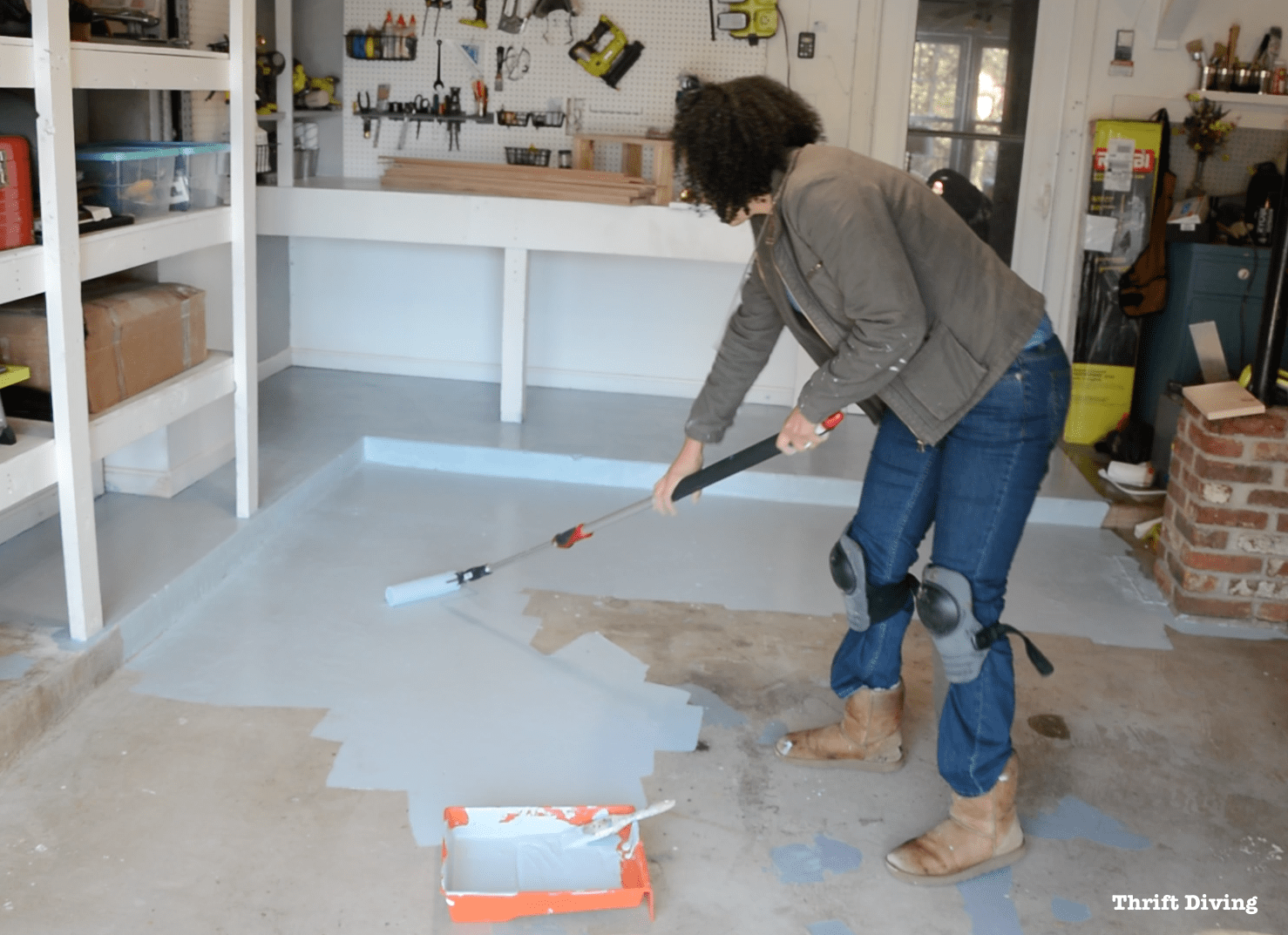 Garage Floor Epoxy Options How To Paint Garage Floors With 1 Part Epoxy Paint