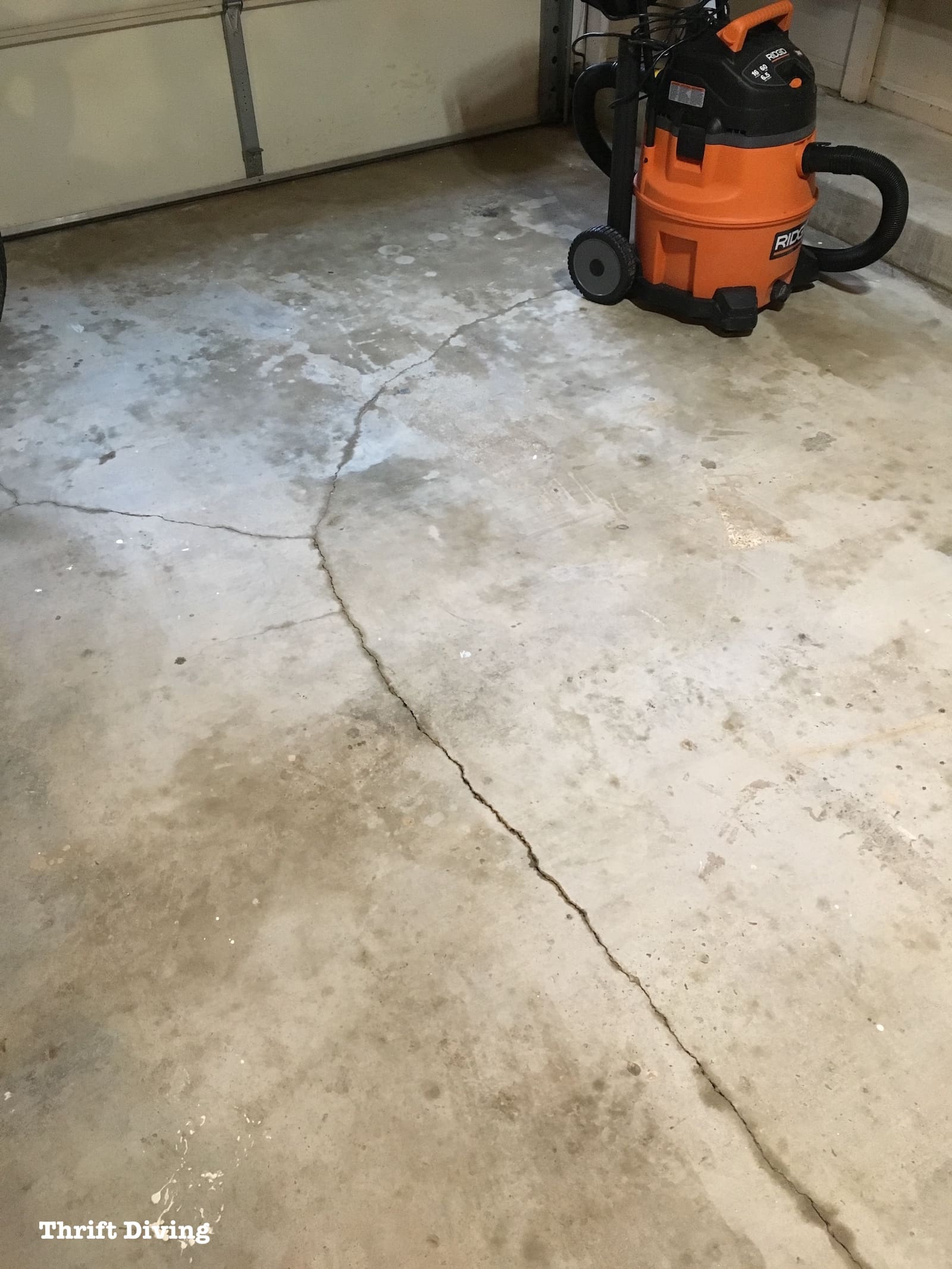 Garage Floor Tiles Or Paint How To Paint Garage Floors With 1 Part Epoxy Paint