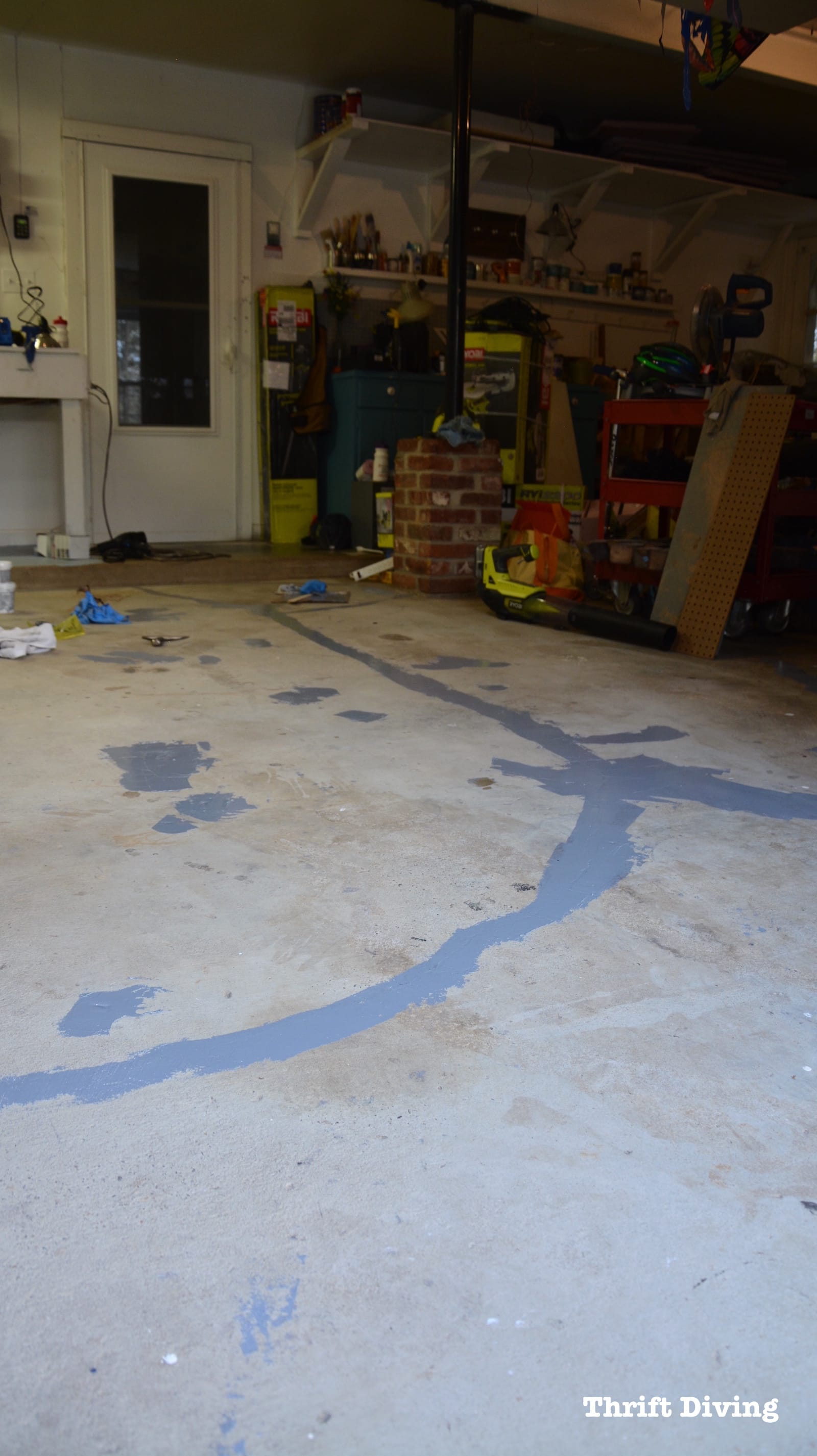 Epoxy Garage Floor Worth It How To Paint Garage Floors With 1 Part Epoxy Paint