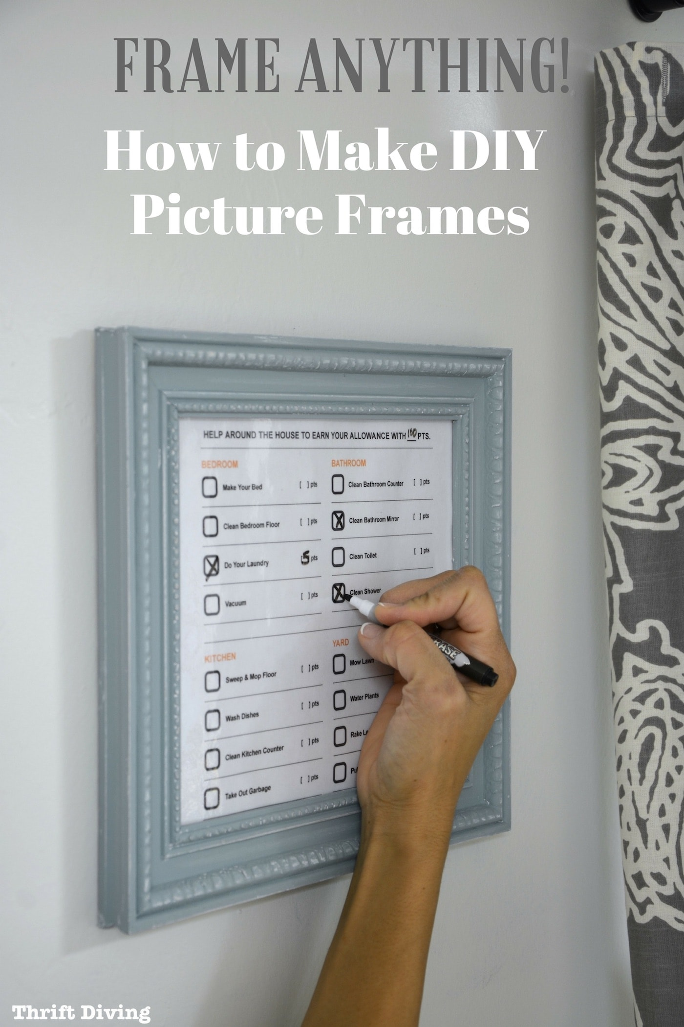 How To Frame Pictures How To Make Your Own Diy Picture Frames Without Power Tools
