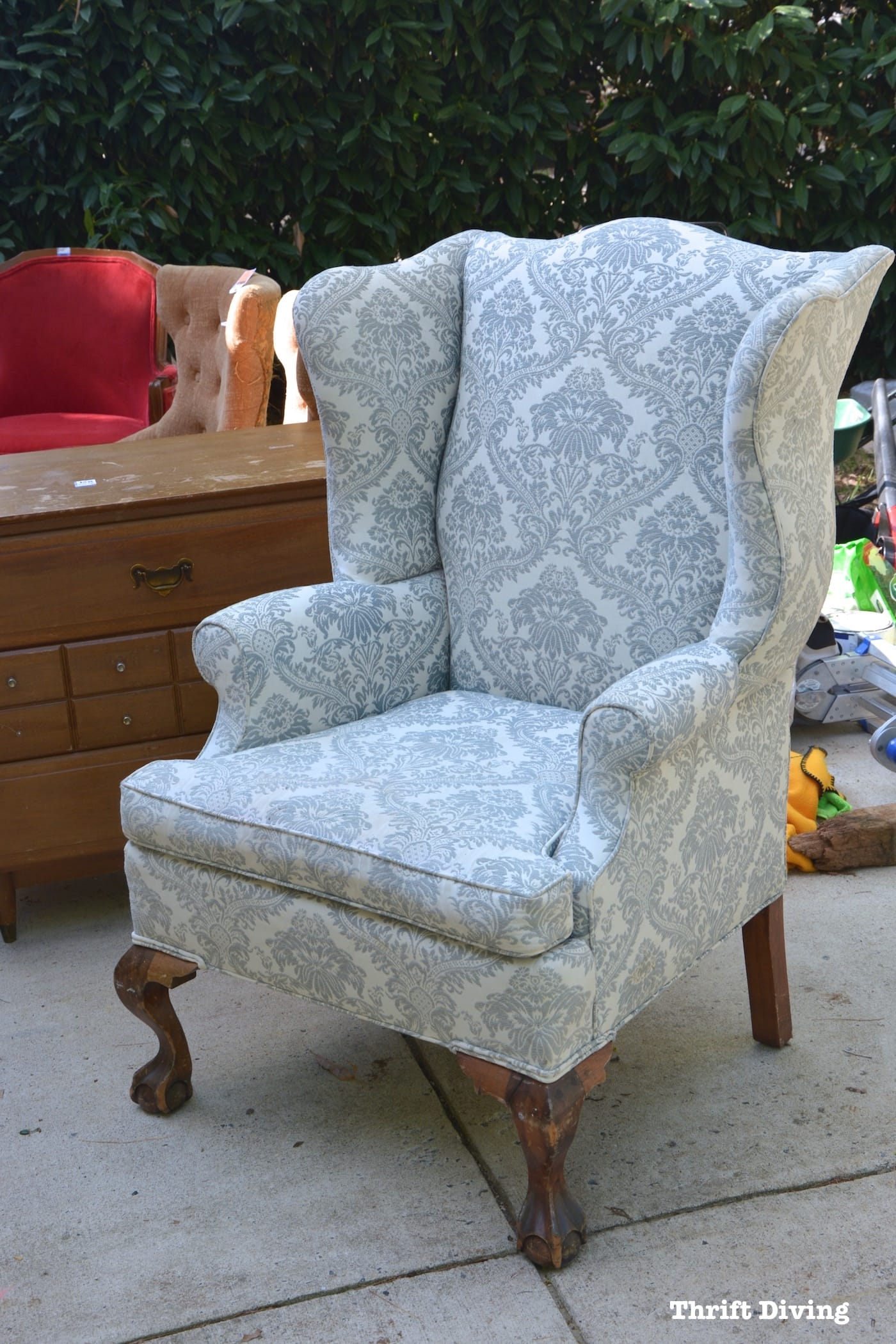Furniture Reupholstery Near Me Uk How To Reupholster A Wingback Chair A Step By Step Tutorial And Guide