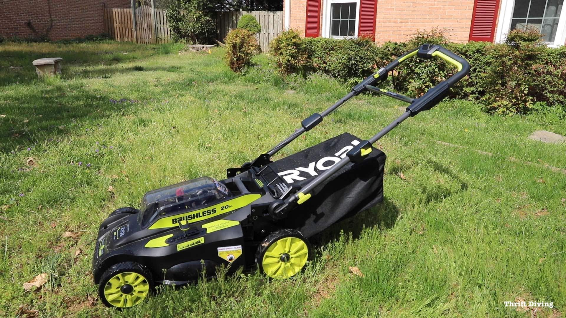 Electric Lawn Mower Sale Ryobi Lawn Mower 5 Reasons To Get This Electric Lawn Mower For