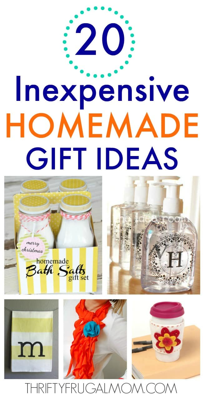 Christmas Homemade Gifts 20 Inexpensive Homemade Gift Ideas