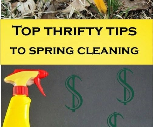 The best frugal living tips to spring clean your house!