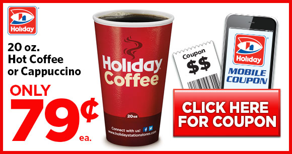 holiday coffee coupon