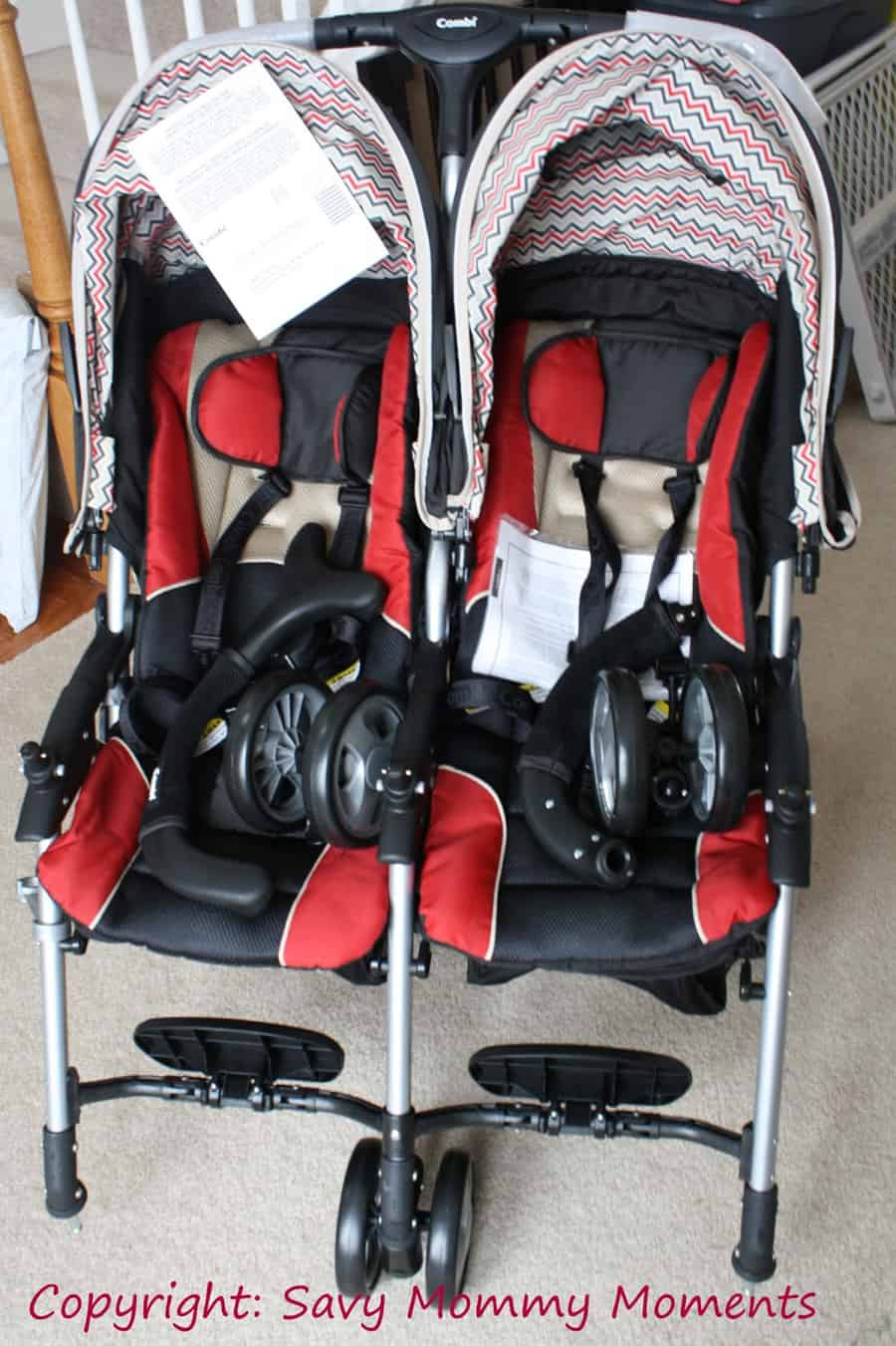 Combi Double Stroller Side By Side Combi Twin Review