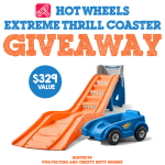 WIN the Step2 Hot Wheels Extreme Thrill Coaster!