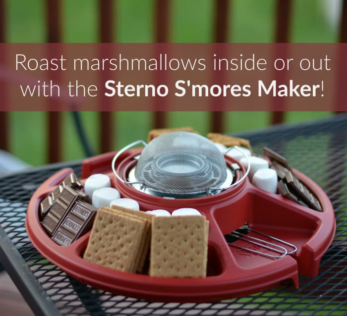 That Time We Roasted Marshmallows – INSIDE!