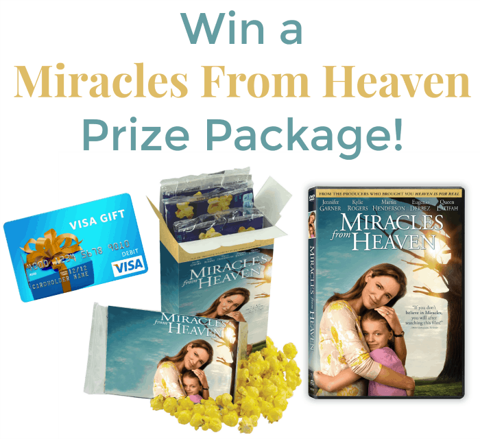 Win a Miracles From Heaven Prize Package!