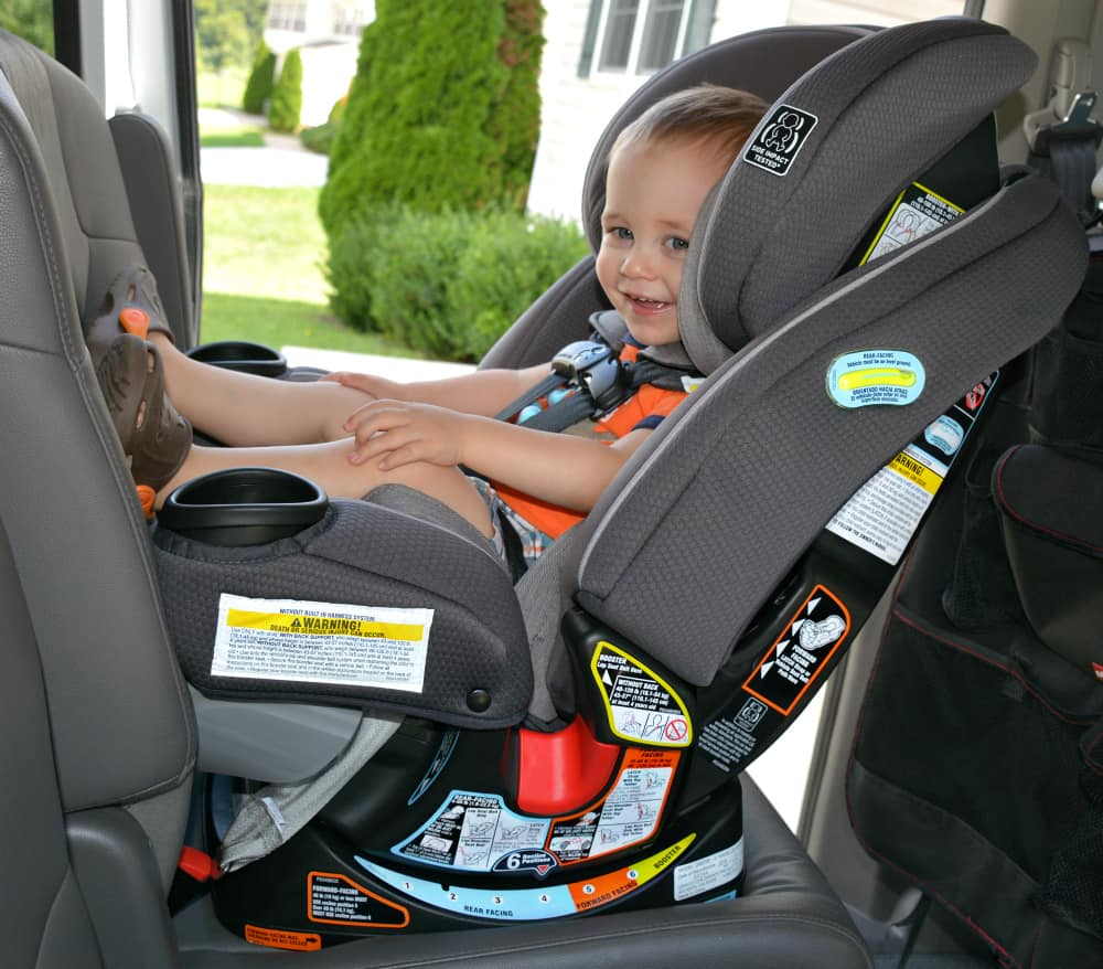 Rear Facing Car Seat Age 4 Graco 4ever Extend2fit 4 In 1 Car Seat Review Thrifty