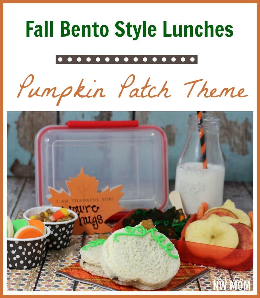 Lunch In A Box Pumpkin Patch Bento Lunch Box Idea