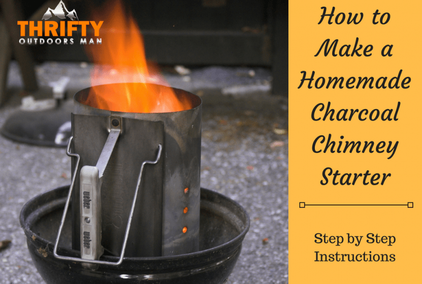 Starter Bbq How To Make A Homemade Charcoal Chimney Starter - Thrifty