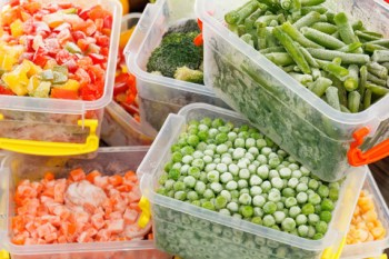 frozen food, freezer food, freezing vegetables, frozen vegetables in containers, how to freeze fresh vegetables, fresh vegetables store